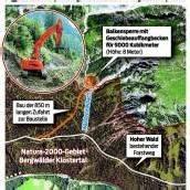Schutzbau gegen Murengefahr