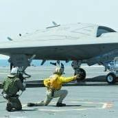 Drohne im Testflug