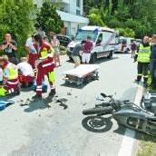 19-jähriger Motorradfahrer in Muntlix verunfallt