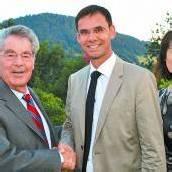 Wallner begrüßte Heinz Fischer in Vorarlberg