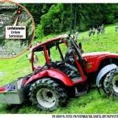Alphirtin mit Traktor in Au tödlich verunglückt