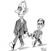 Hand in Hand mit Putin!