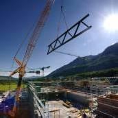 450-Tonnen-Stahlkonstruktion für Hilti
