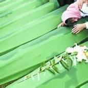 Tiefe Trauer in Srebrenica