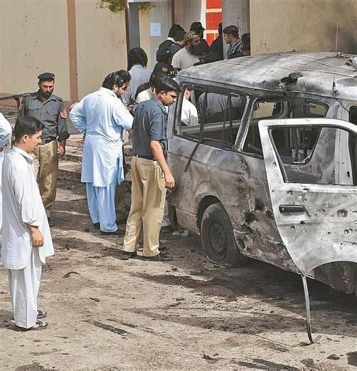 25 Menschen starben bei dem Anschlag in Quetta. Foto: RTS