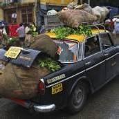 Mumbai zieht Taxis aus dem Verkehr