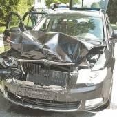 Unfall vor Schutzweg – Vier Personen verletzt