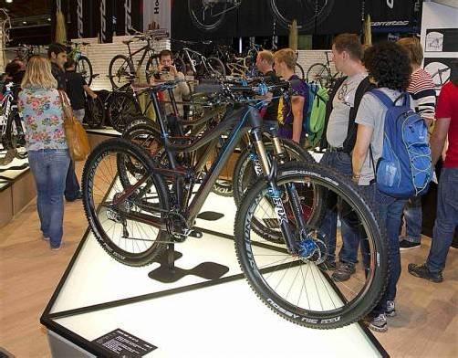 Auf der Messe Eurobike in Friedrichshafen werden die neuesten Fahrradtrends präsentiert. Foto: vn/PAulitsch