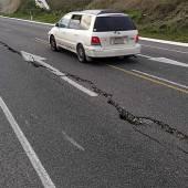 Panik nach starkem Erdbeben in Neuseeland
