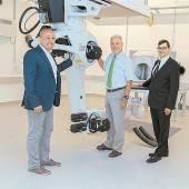 Roboter bringt Patienten in die richtige Lage