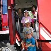 Götzis: Kinder zu Gast bei den Florianijüngern