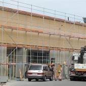 Bauarbeiten bei Mehrerau in der Schlussphase