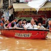 Fluten in Russland und China steigen weiter