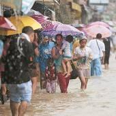 Hochwasser bedroht Norden von Manila