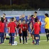 Messi und Co. auf Friedenstour in Nahost