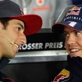 Ricciardo Vettels neuer Partner