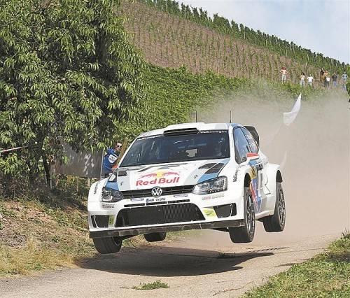 Das Heimspiel in Köln und Umgebung verlief nicht nach Wunsch. Die beeindruckende VW-Bilanz in der WRC trübt das aber kaum. Foto: epa