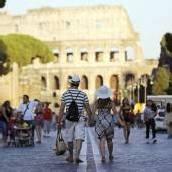 Straße um Kolosseum in Rom ist jetzt autofrei