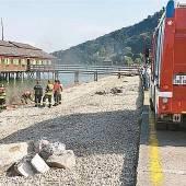 Feuerwehreinsatz bei der Bregenzer Mili