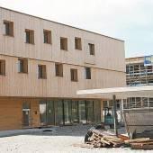 Bau des Sozialzentrums liegt voll im Zeitplan