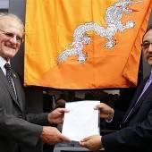 Exotische Karriere: Freund Bhutans und jetzt Konsul