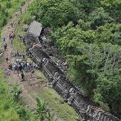Blinde Passagiere starben bei Zugunglück in Mexiko