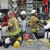 Quecksilber hielt Feuerwehr auf Trab