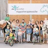 Erfolgreiche Therapie auf dem Pferderücken