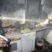 Feuerwehreinsatz statt Mitternachtsimbiss