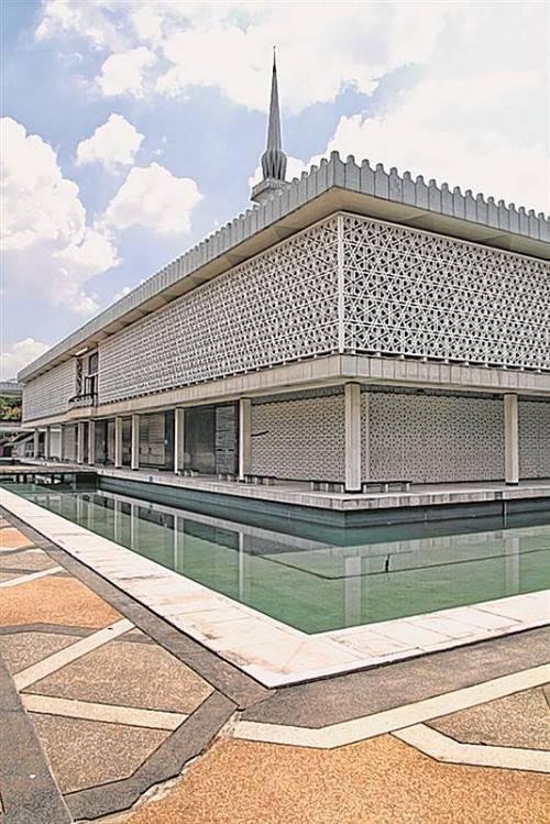 Die Nationalmoschee Malaysias: Masjid Negara. Foto: stedah