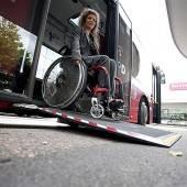 Behinderte müssen umsteigen