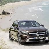 Mercedes kommt mit dem GLA nach Frankfurt