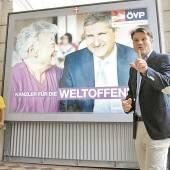 ÖVP wirbt für Bundeskanzler Spindelegger