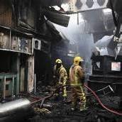 Brand auf Flughafen in Nairobi: Terminal zerstört