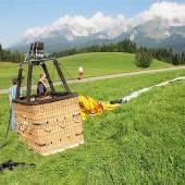 Tiroler stürzt von Ballon 100 Meter in den Tod