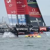 New Zealand gewinnt chaotischen Finalauftakt im Vuitton Cup
