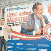 FPÖ wirbt um Nächstenliebe