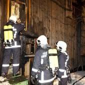 Rätsel um einen Brandanschlag