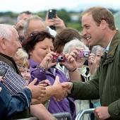 Prinz William ist wieder zurück in der Öffentlichkeit