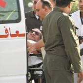 Mubarak wurde ins Armeespital gebracht