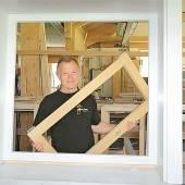 Fenster aus einer Hand