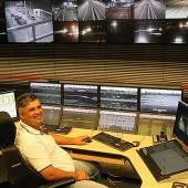 Für die Sicherheit 52 Monitore im Blick
