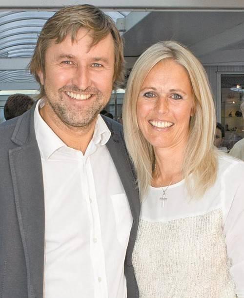 Karl Zimmermann und Silvia Vonbrül.