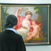 Verbannung der Kunst auf Zeit
