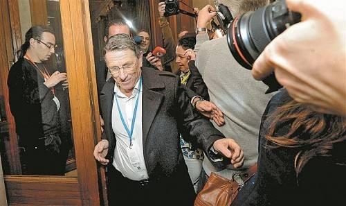 Lobbyist Peter Hochegger packte im Februar 2012 im Korruptions-U-Ausschuss erstmals aus. Foto: APA