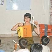 Als Freiwillige nach Indien