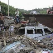 Zahl der Toten in Chinas Unwettergebieten steigt