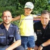 Polizisten retteten Bub