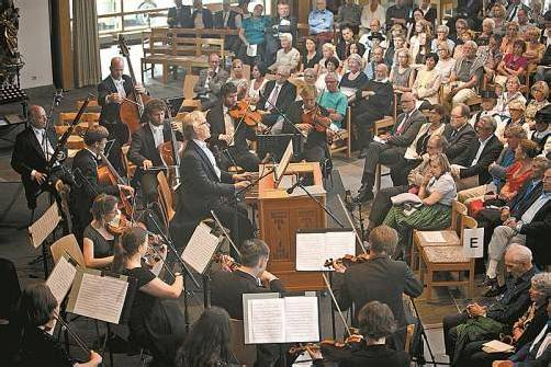 Nach dem großen Erfolg des Lech Classic Music Festivals im letzten Jahr wurde das Festival erneut auf die Beine gestellt. Fotos: Lisa Fail