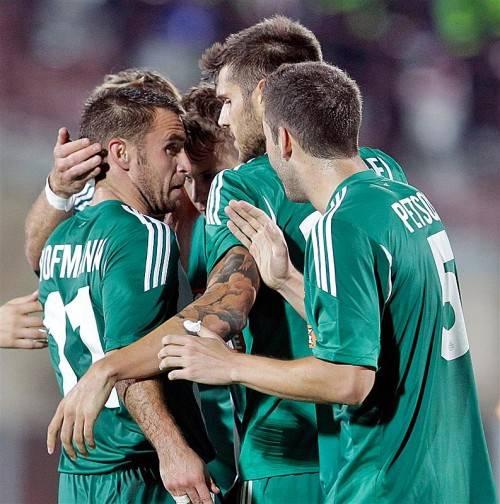 Nach einem 1:0-Heimsieg feierte Rapid gestern auswärts gegen Dila Gori einen souveränen mit 3:0-Sieg. Fotos: Gepa